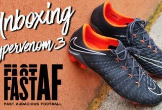 """Vidéo Unboxing Nike Hypervenom 3 """"FAST AF"""" Pack"""