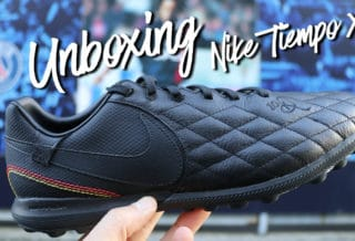 "Vidéo Unboxing Nike TiempoX ""City Collection 10R"" Ronaldinho"