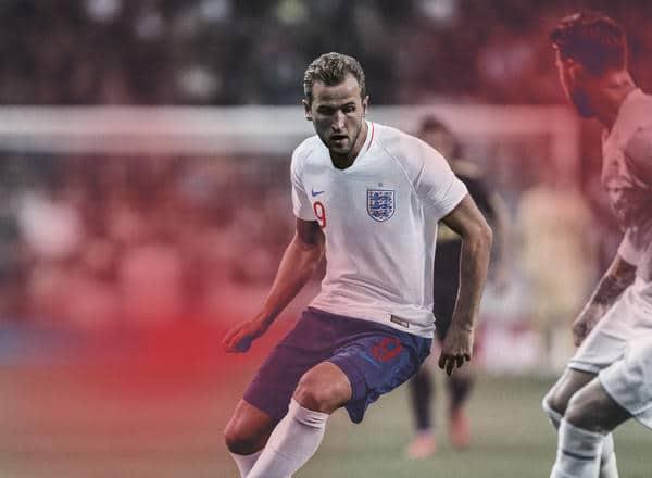 Maillot Angleterre Coupe du Monde 2018 - Harry Kane