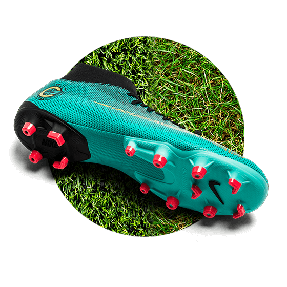 Chaussures Nike Mercurial CR7 crampons multi surface