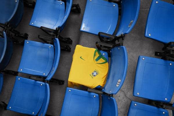 Maillot Domicile Brésil coupe du monde 2018