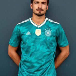 Maillot Extérieur Allemagne Coupe du monde 2018