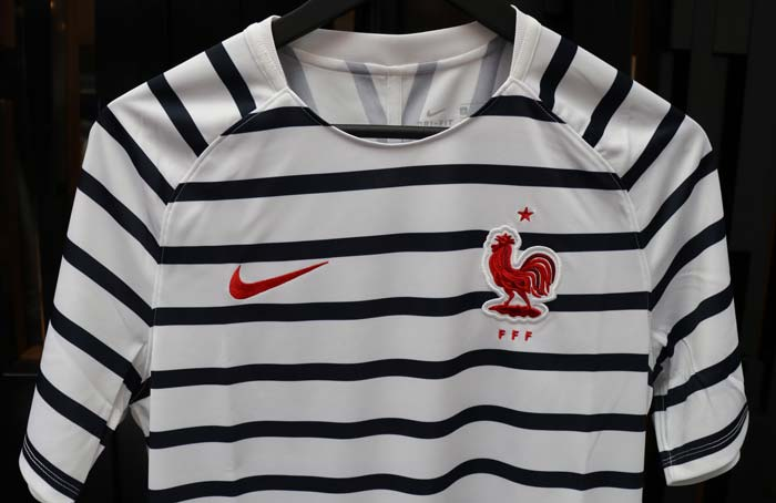 Maillot Foot Echauffement France Coupe du monde 2018