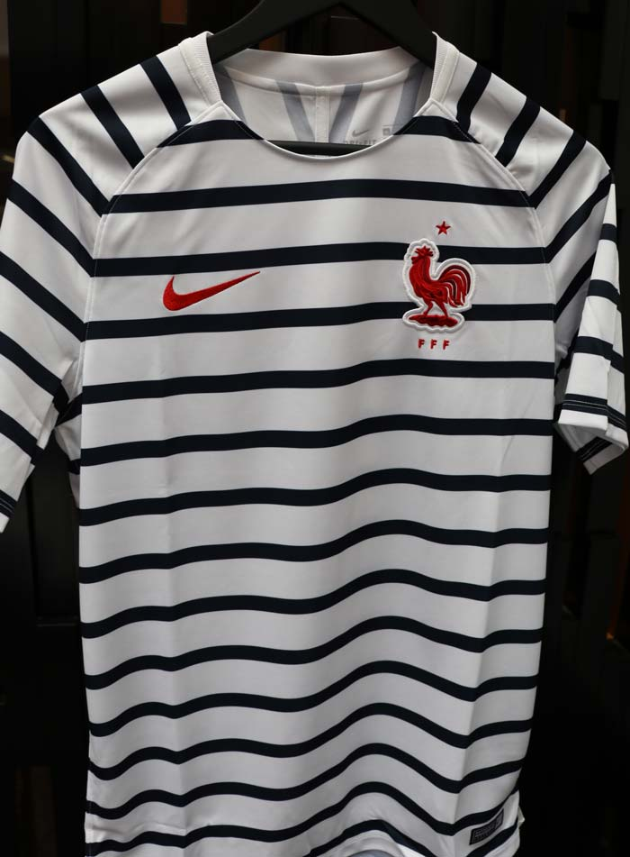 Maillot Marinière Avant Match France Mondial 2018