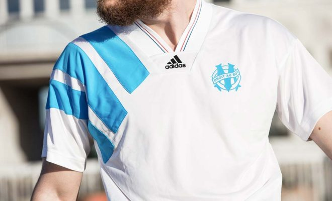 Maillot OM Marseille 93 collector 2018