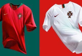 Nike dévoile les maillots du Portugal pour le Mondial 2018