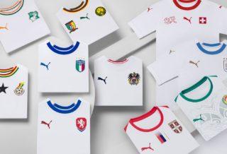 Puma dévoile les maillots de foot extérieurs des sélections nationales