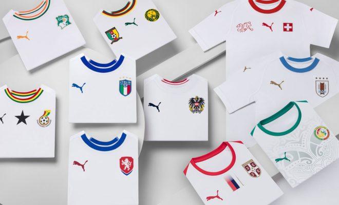 Maillots Puma Extérieur Away Kit Mondial 2018