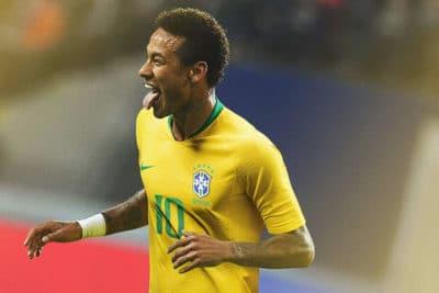 Maillots du Brésil pour la Coupe du Monde 2018