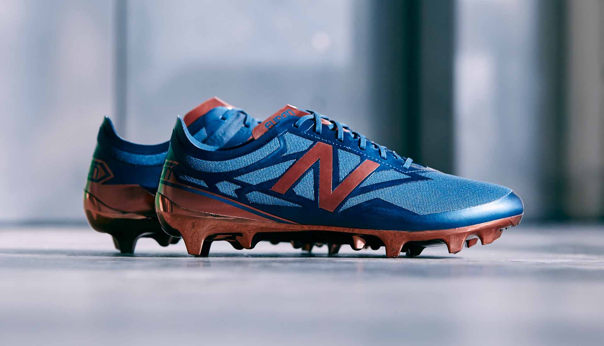 New Balance Furon 3.0 Pro FG Conduction Pack - Bleu/Cuivre