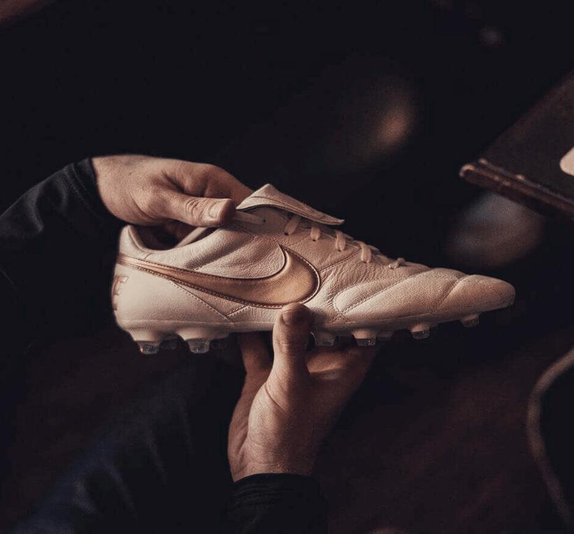Nike Premier 2-0 White Gold