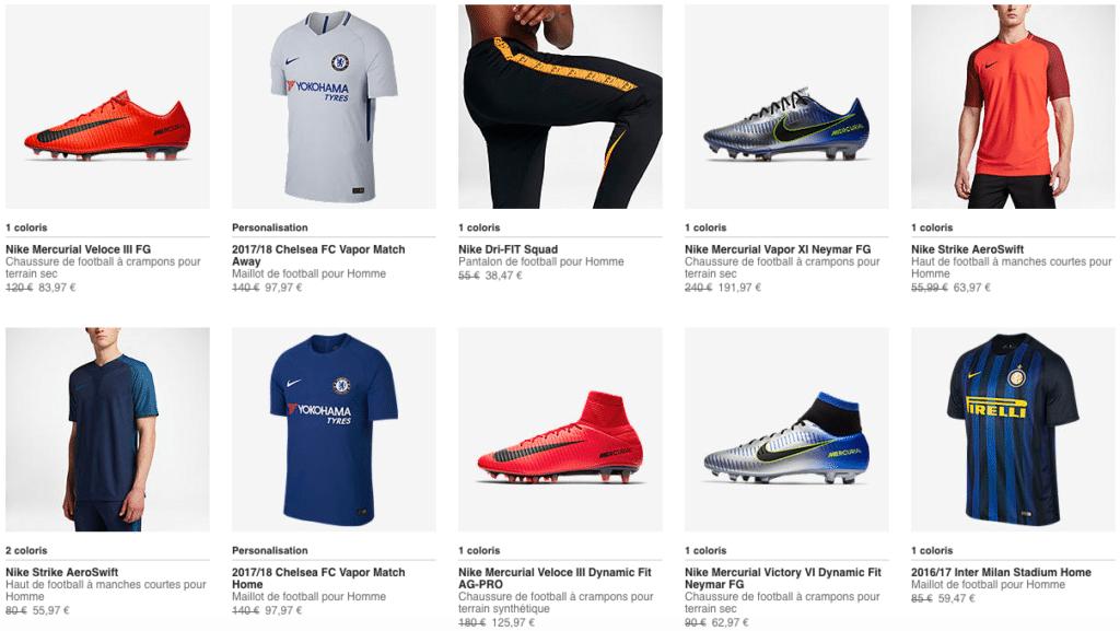 Promotion Nike Football Mars 2018