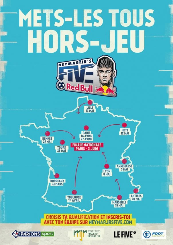 Tournoi Foot Neymar JR 2018 France