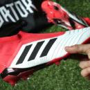 adidas Predator 18+ Unboxing Foot-Inside