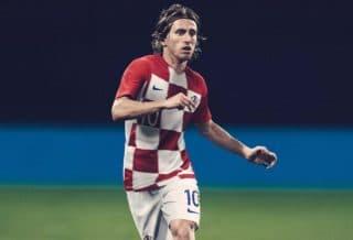 Nike présente les maillots de la Croatie pour le mondial 2018