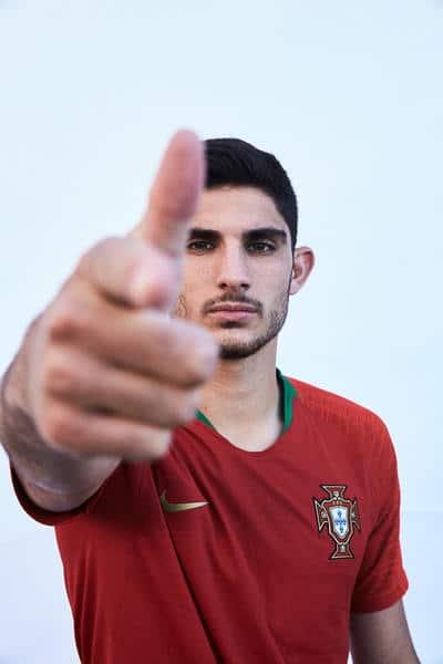maillot domicile portugal 2018