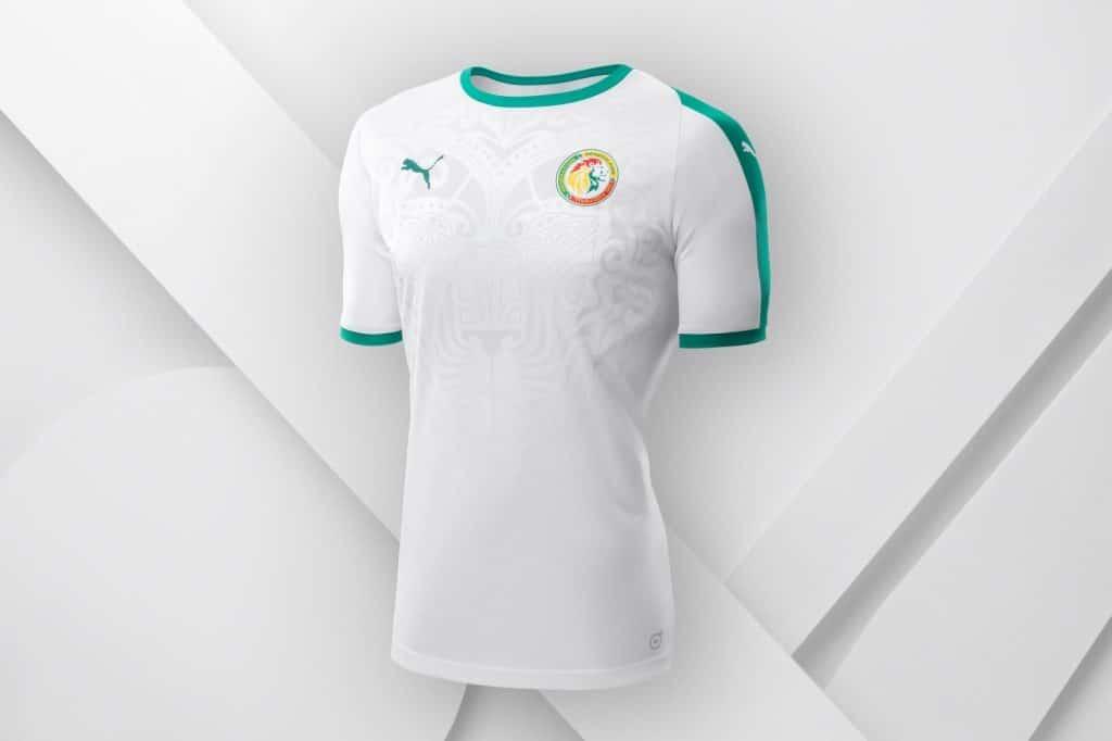 Maillot Sénégal Domicile Coupe du Monde 2018
