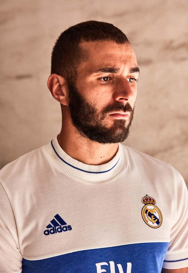adidas dévoile un maillot lifestyle du Real Madrid
