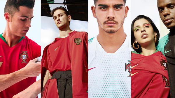 nouveaux maillots nike portugal 2018