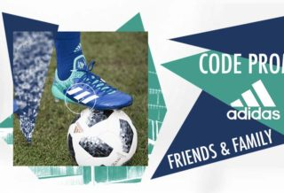 Code Promo Adidas -25% sur l'Outlet - Promotion Friend & Family