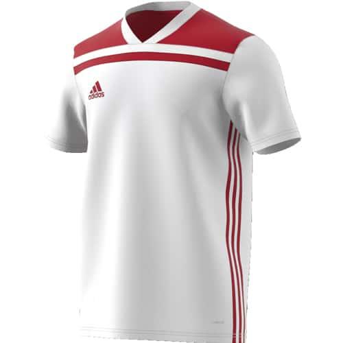Maillot adidas Regista 18 Blanc et Rouge - CE8969-1