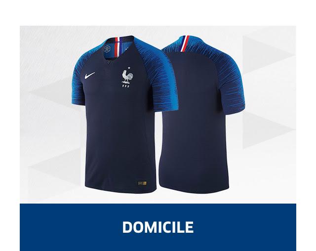 Maillot Equipe de France 2 étoiles Champion du Monde