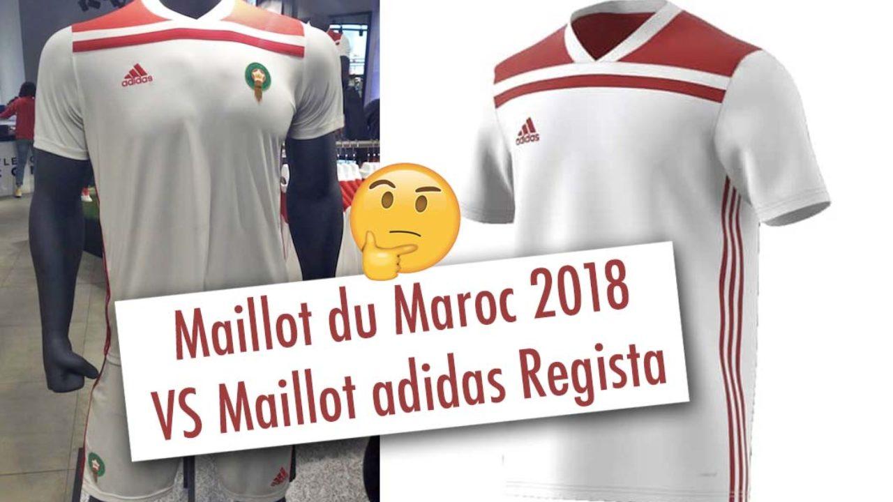 Le maillot du Maroc 2018 a fuité et provoque la polémique