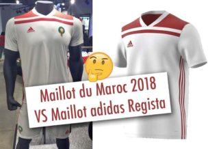 Le maillot du Maroc 2018 a fuité et provoque la polémique !