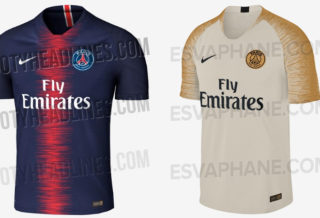 Les maillots du PSG 2018-2019 ont fuité !