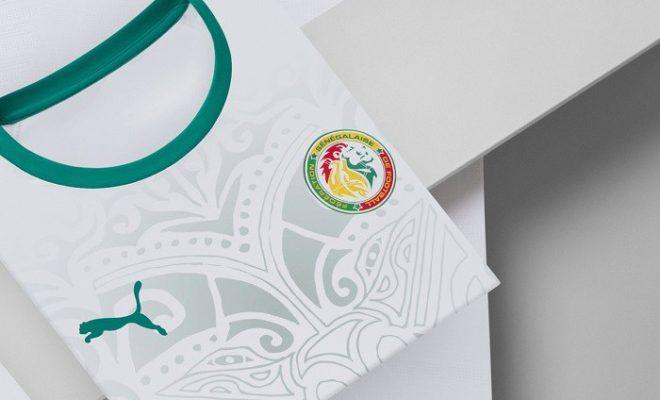 Maillot Senegal domicile Coupe du Monde 2018