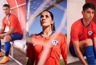 Nike présente les nouveaux maillots 2018 du Chili