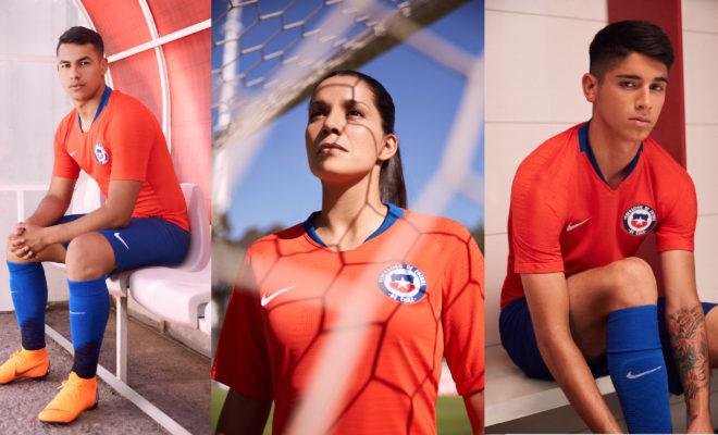Nouveaux Maillots Nike Chili 2018