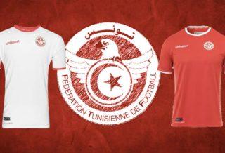 les maillots de la Tunisie pour la Coupe du Monde 2018