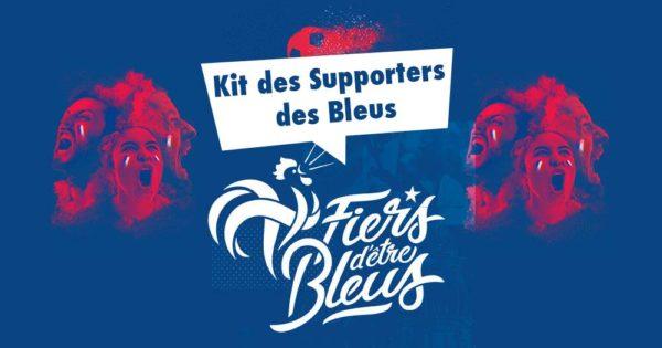 Kit des Supporters des Bleus FFF