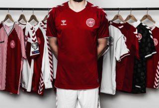 Hummel dévoile les maillots du Danemark pour le Mondial 2018