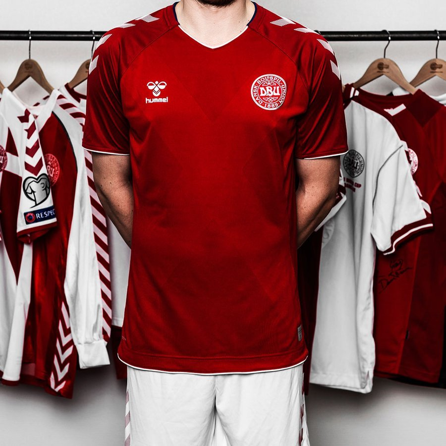 Danemark Maillot Domicile Coupe du Monde 2018