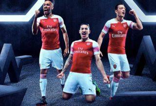 Arsenal dévoile son nouveau maillot domicile pour la saison 2018/19