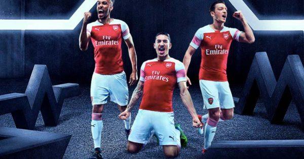Maillot Domicile Arsenal Puma Saison 2019