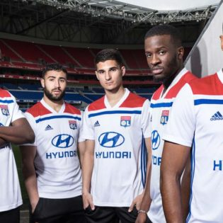 Lyon dévoile ses nouveaux maillots pour la saison 2018-2019