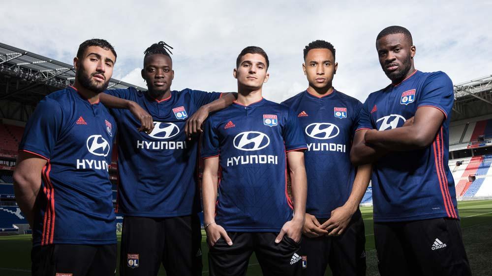 Maillot Extérieur Olympique Lyonnais - Saison 2018-2019