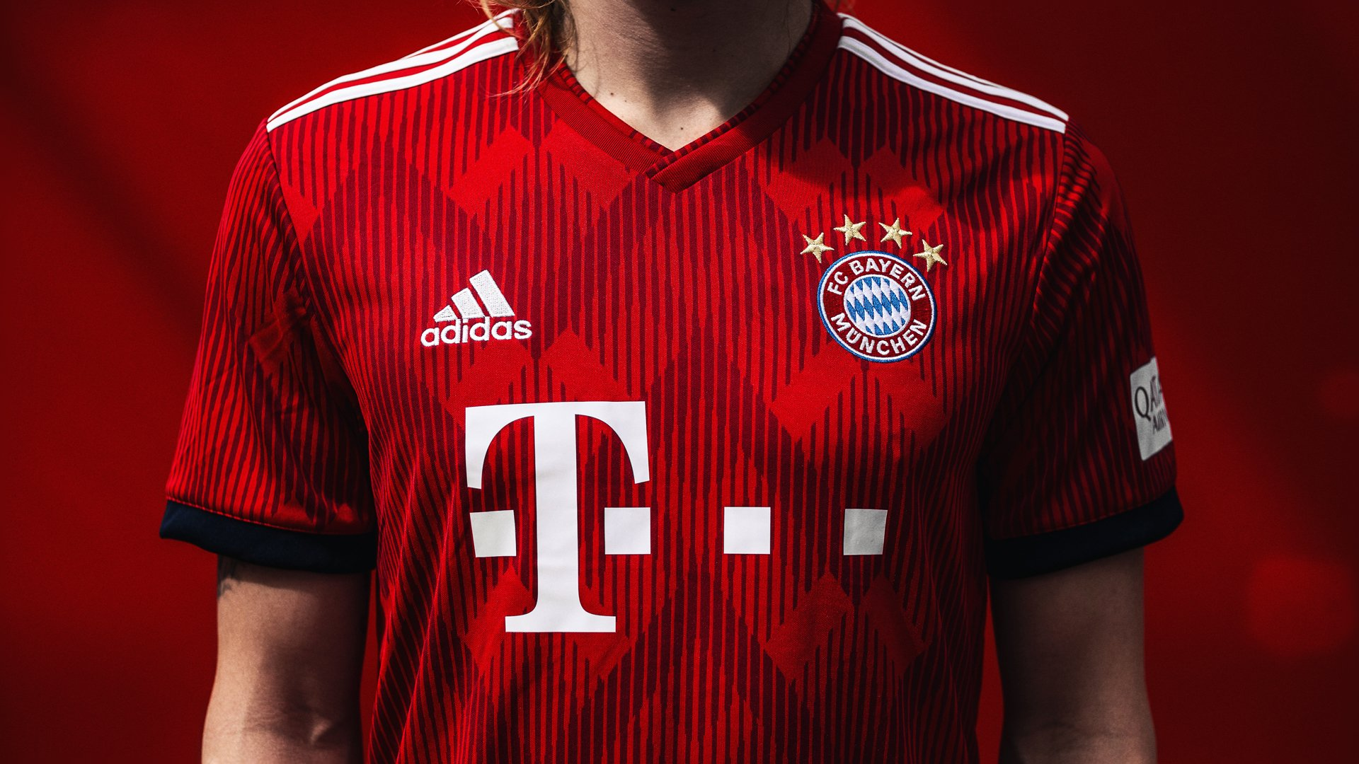Maillot adidas du Bayern Munich pour la saison 2018-2019