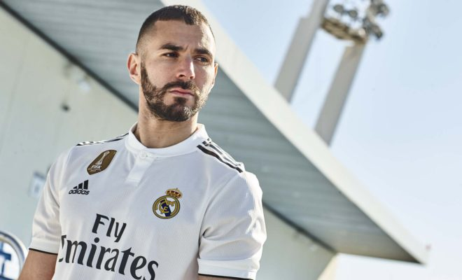 Maillot Real Madrid Domicile Saison 18-19