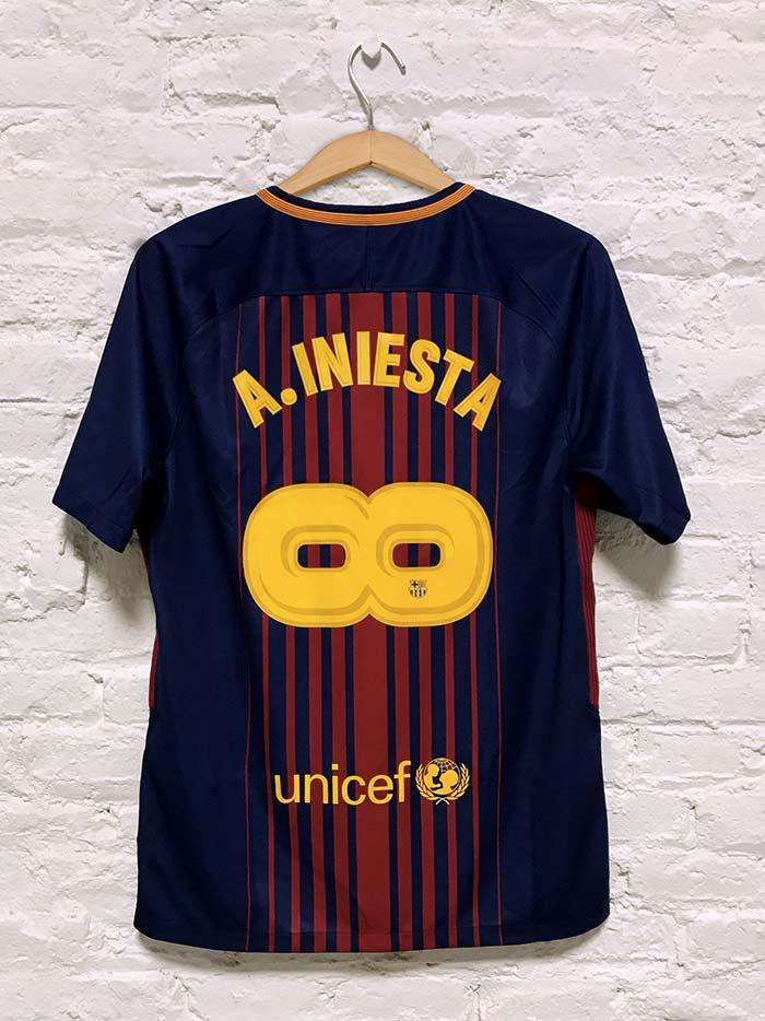 Maillot spécial Andrès Iniesta FC Barcelone
