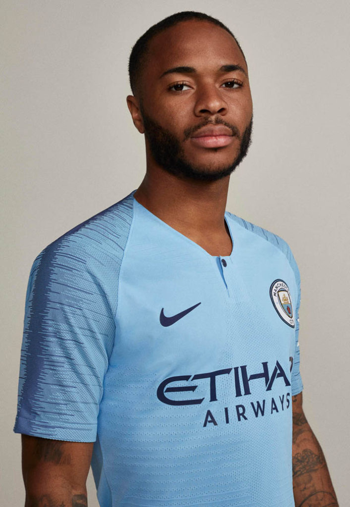 Manchester City FC home kit 18-19