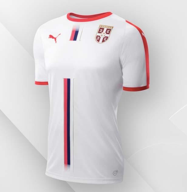 Serbie Maillot Extérieur pour la coupe du monde 2018