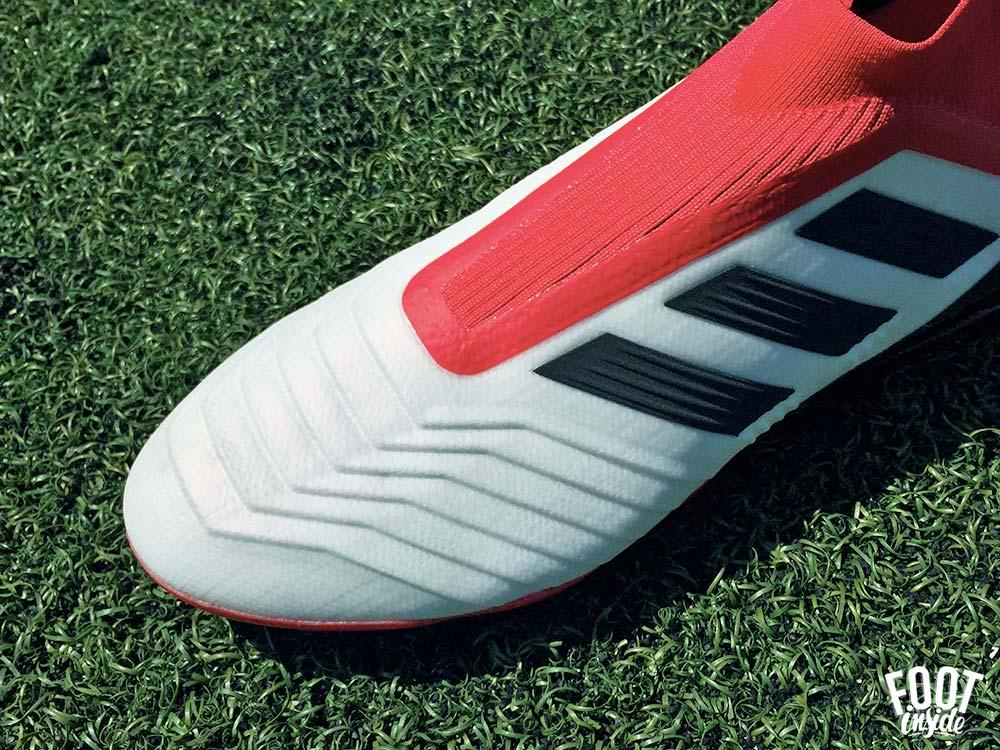 Test des chaussures de foot adidas Predator 18+ sans lacet