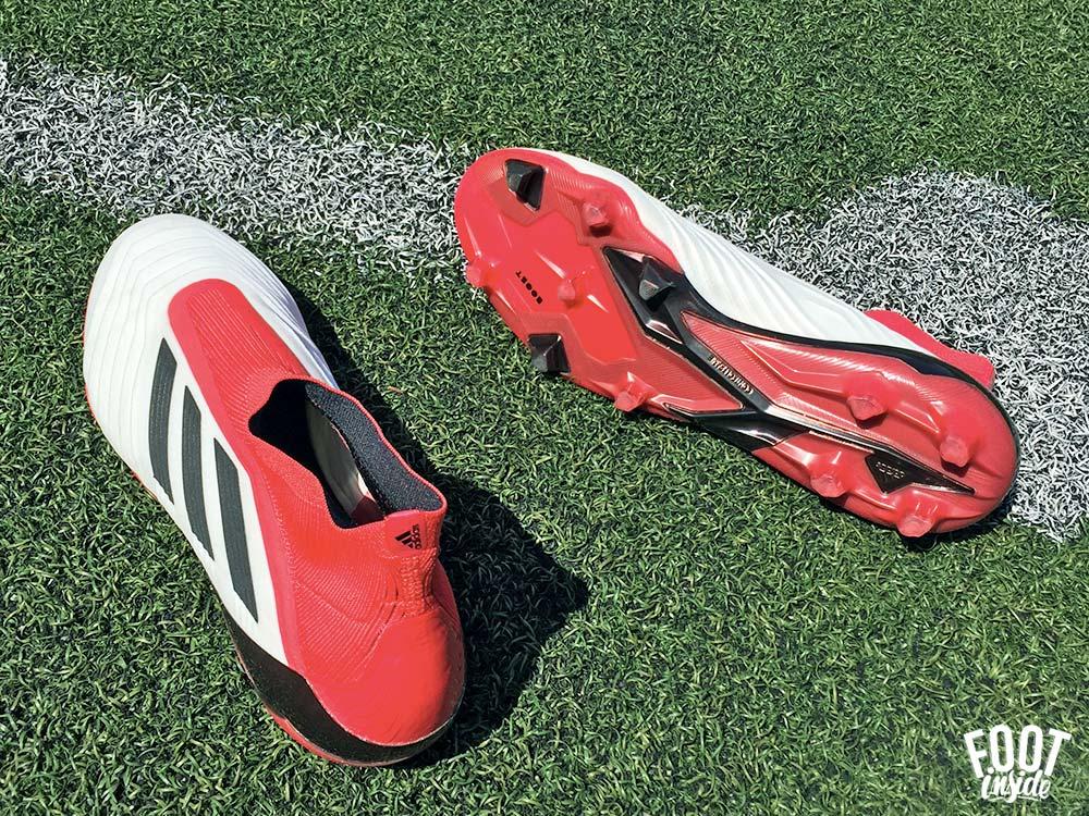Test des chaussures de football adidas predator 18+