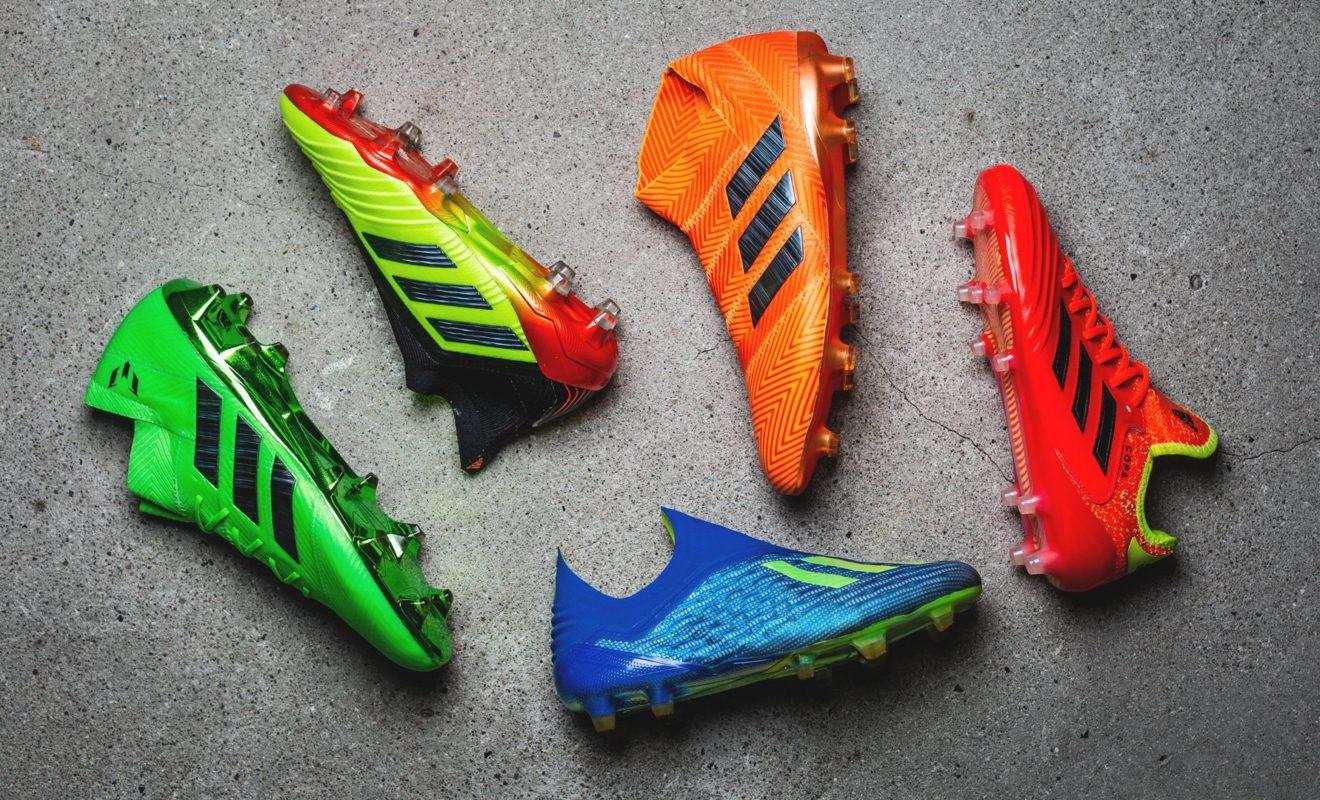 Les nouveaux crampons adidas de Pogba, Messi et Suarez
