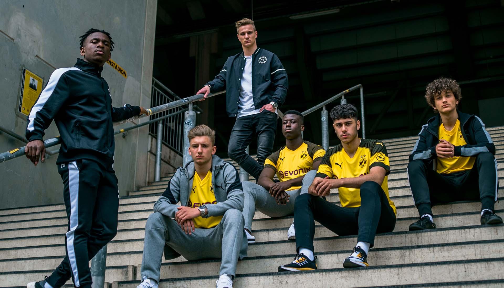 Borussia Dortmund BVB Home Shirt 2018 2019