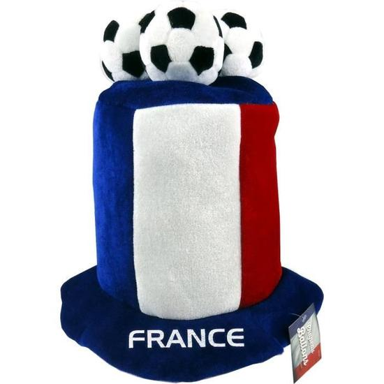 Chapeau Supporter France Bleu/Blanc/Rouge Ballon
